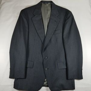 Polo University Club charcoal gray sport coat